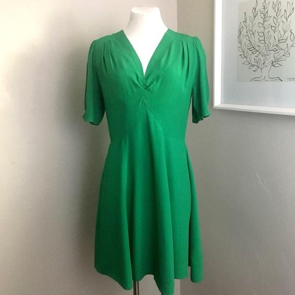 ASOS Dresses & Skirts - ASOS | Green Pleated Dress